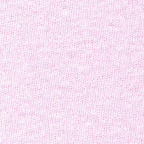 Pink 1x1 Rib Knit