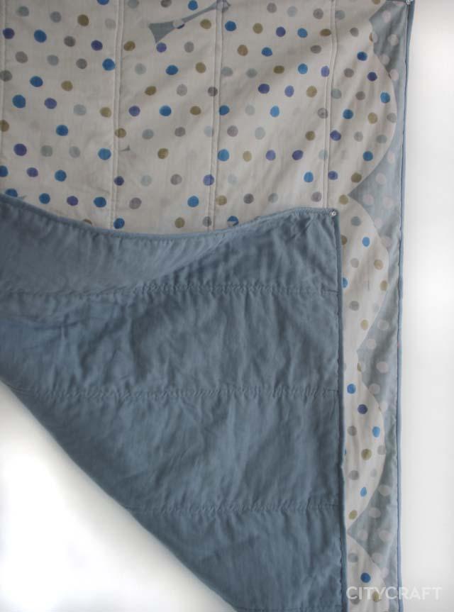 Nani Iro Modern Baby Quilt