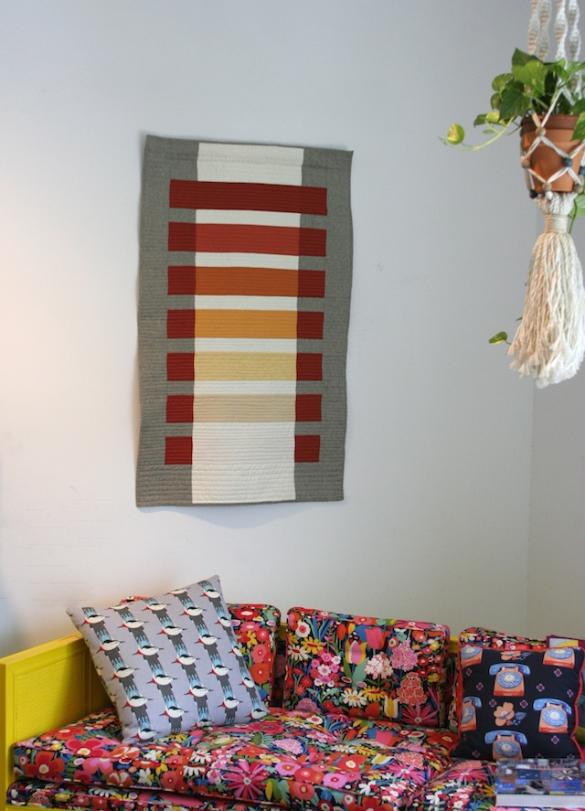 modern transparency quilt