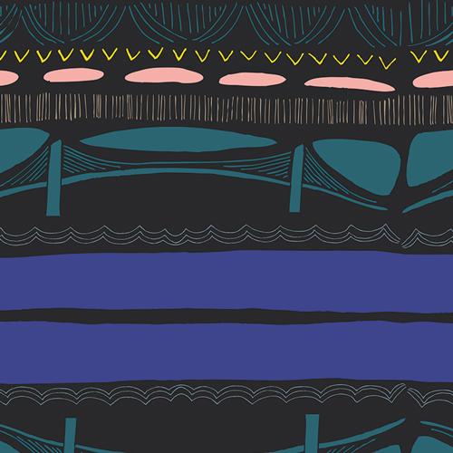 Brooklyn Bridge Flare by Leah Duncan at http://citycraft.com