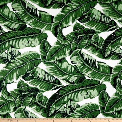 "Manufacturer: Sunbrella Type: Outdoor Acrylic Fabric: Fusion Tropics Jungle Fabric Width: 54"""
