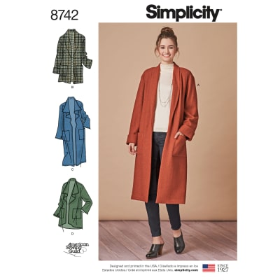 Simplicity Pattern 8742 Jacket
