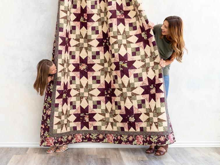 Conservatory quilt pattern by Callie Works-Leary