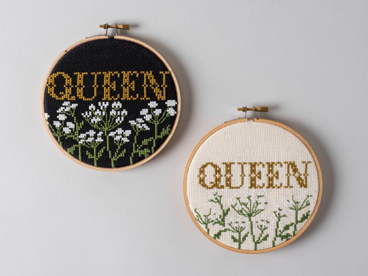 Queen Cross Stitch kit #crossstitch #crossstitchpattern