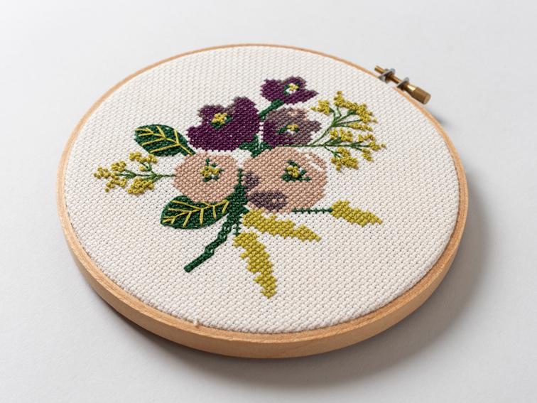 Amethyst cross stitch kit #crossstitch #crossstitchpattern