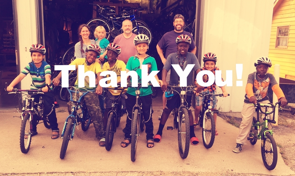 Thank you to all who supported us through the Big Share fundraiser! We exceeded all expectations this year, raising $6,215 dollars.  With your help we matched a $2,000 challenge grant from Budget Bicycle in addition to a $650 challenge grant from our board members.