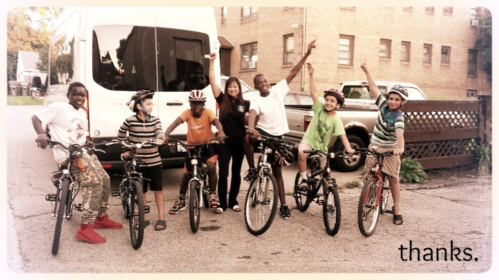 Thanks to all who made our Big Share fundraiser a success! We exceeded our goal of $6,000 and sincerely appreciate your support. Here's to another great year of biking!