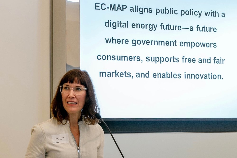EC-MAP Power Sector Launch - Washington, DCThe Energy Consumer Market Alignment Project (EC-MAP) is a Washington, DC non-profit advancing a dialogue around the role of government for a new era of energy digitalization. The launch of our power sector white paper featured XXX