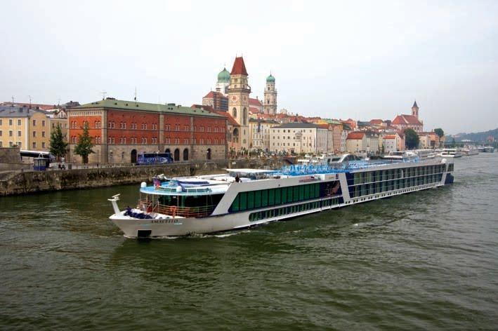 Aboard the AmaDagio