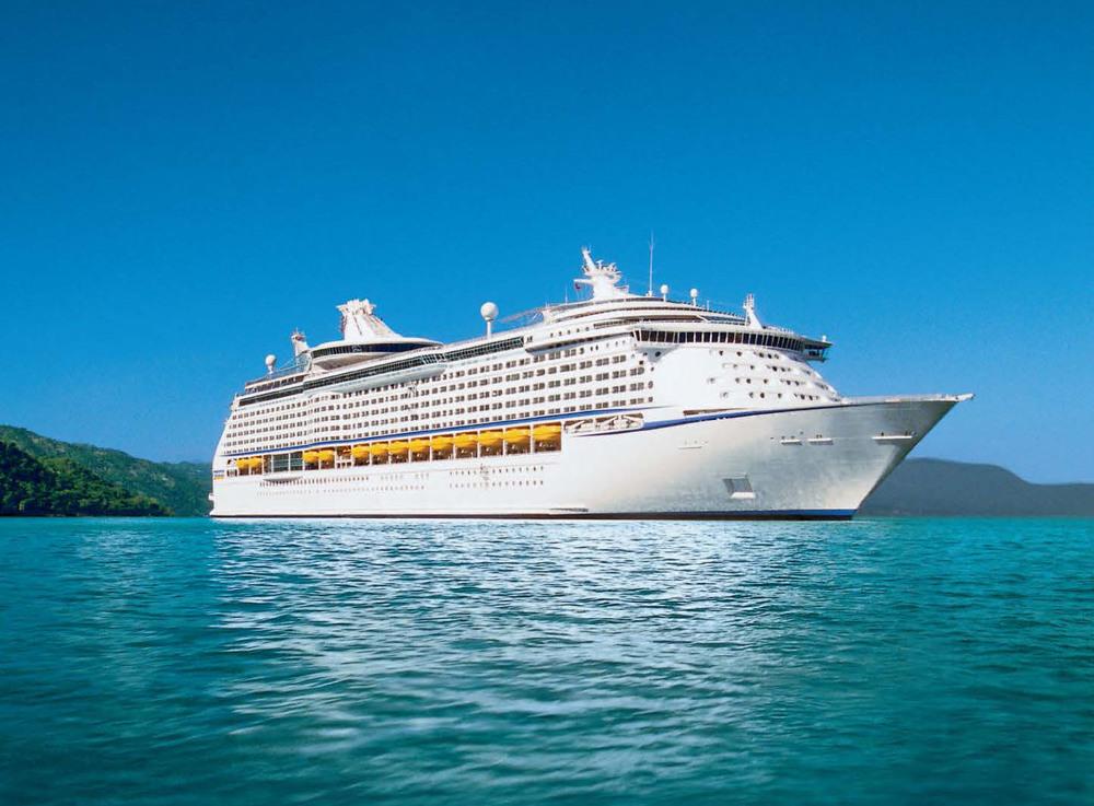 Aboard the Royal Caribbean Navigator of the Seas