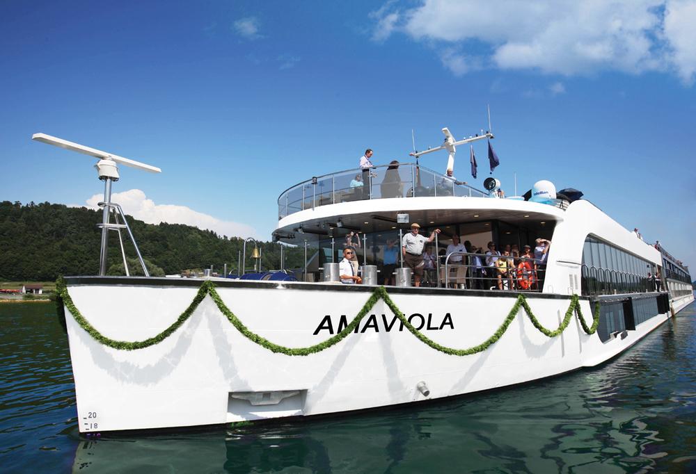 ABOARD THE AMAVIOLA