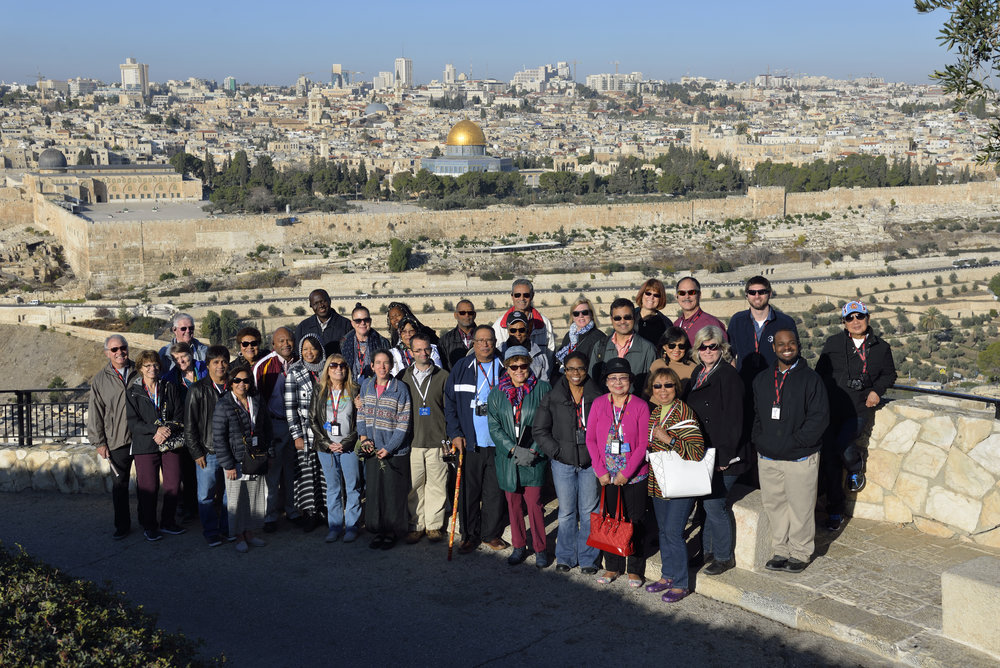 December 2016 ETS Group in the Holy Land