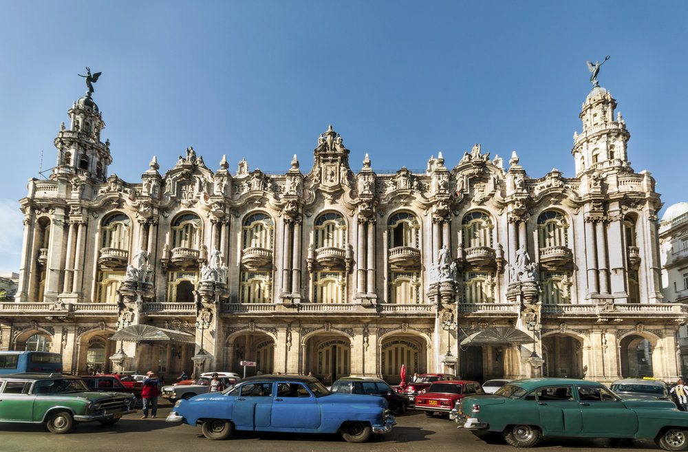 Cuba Unique Architecture and Colorful Parked Cars.jpg