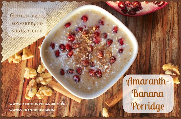 Amaranth-Banana Porridge
