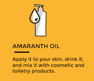How to use amaranth oil
