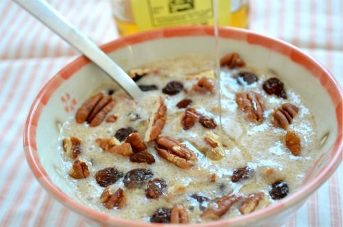 Amaranth nuts porridge