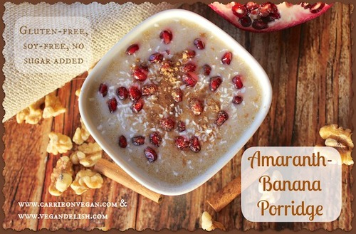Amaranth Banana Porridge