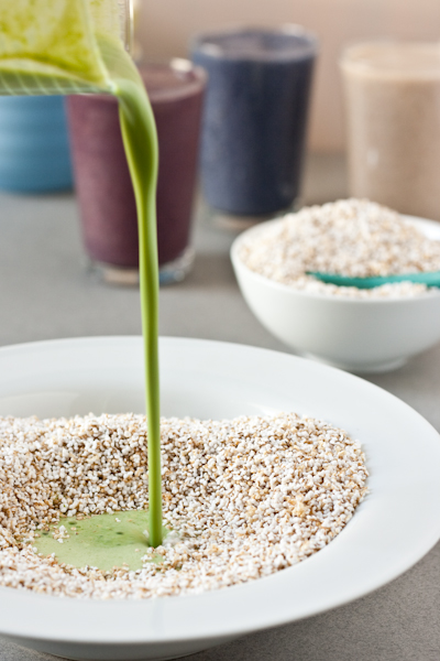 Popped Amaranth cereal sauce