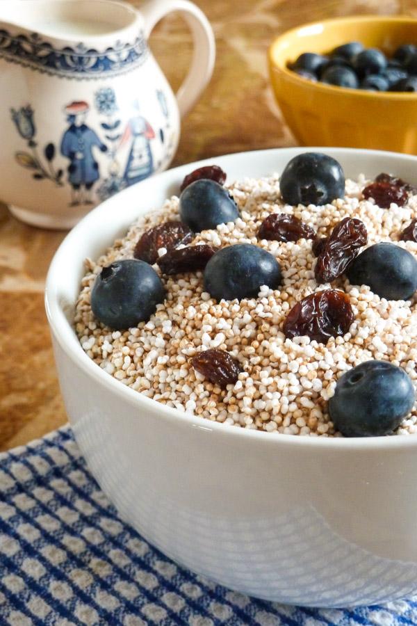 Puffed Amaranth Cereal