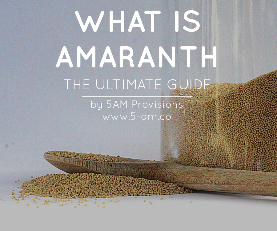 what is amaranth the ultimate guide cover image