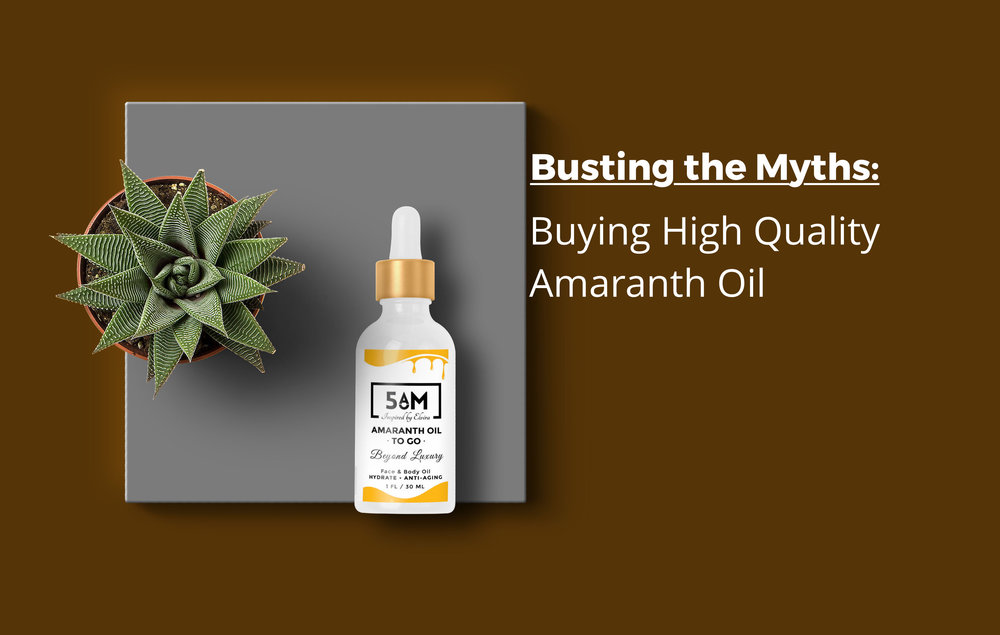 Buying High Quality Amaranth Oil