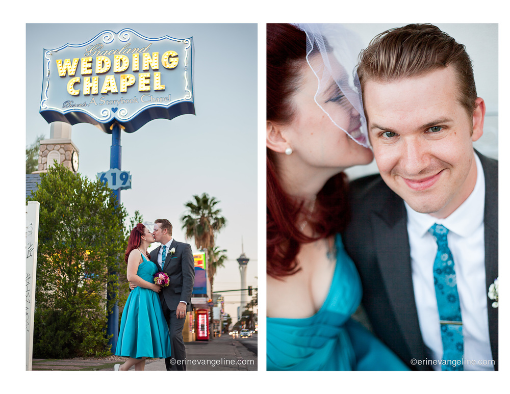 Las Vegas Graceland Chapel Wedding