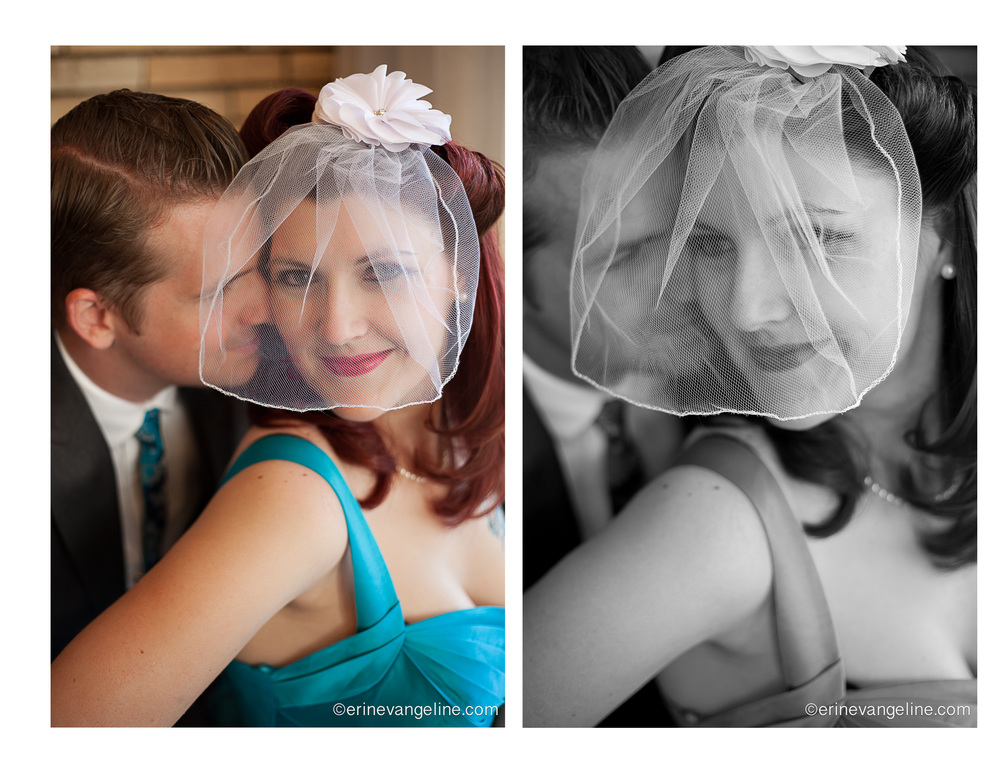 Vegas 1950's vow renewal Erin Evangeline Photography