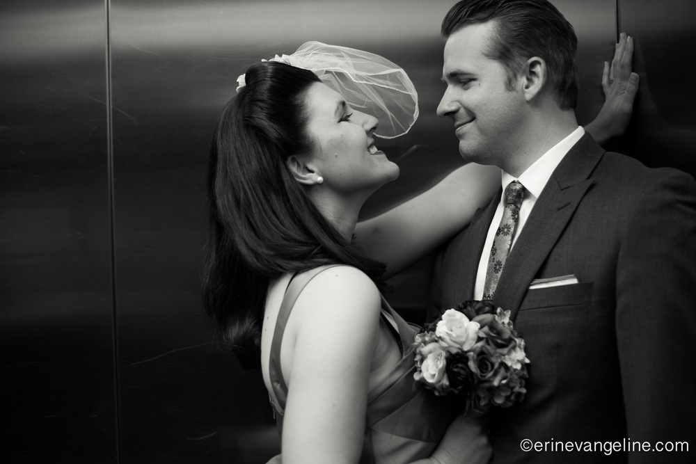 Vegas Vow Renewal Erin Evangeline Photography