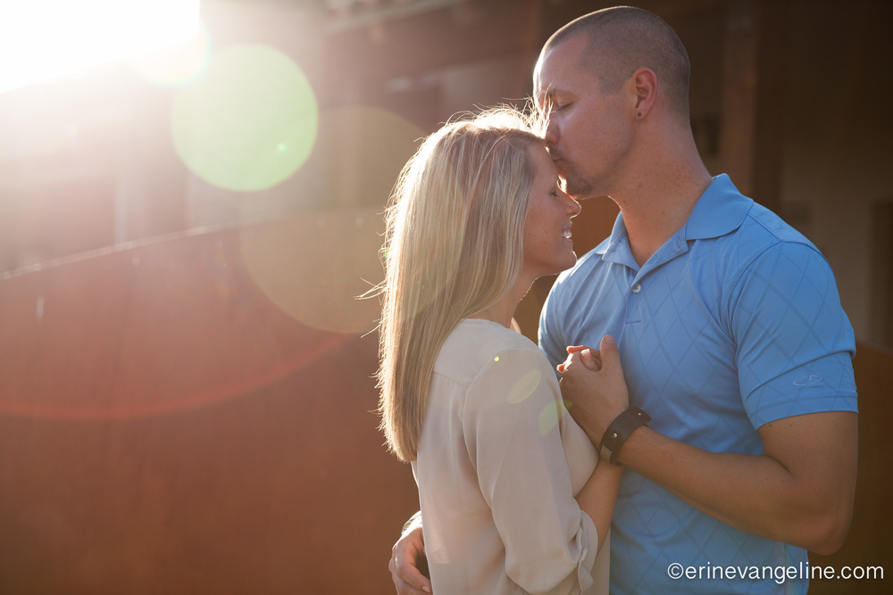 Sweet Scottsdale Engagement Session Erin Evangeline Photography