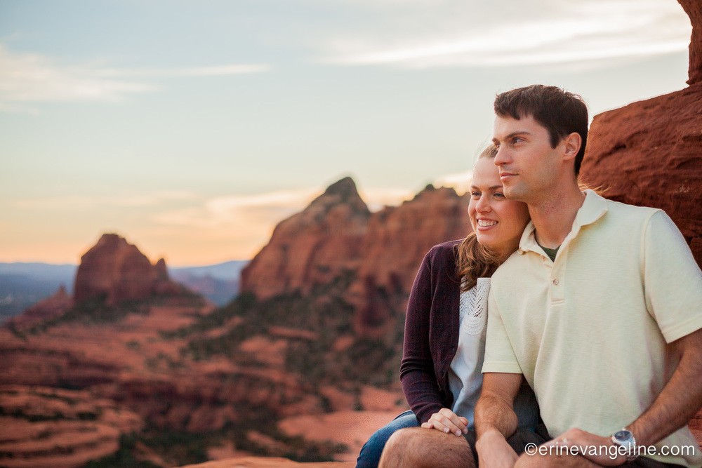 Engagement Photos erin evangeline Photography Sedona, AZ