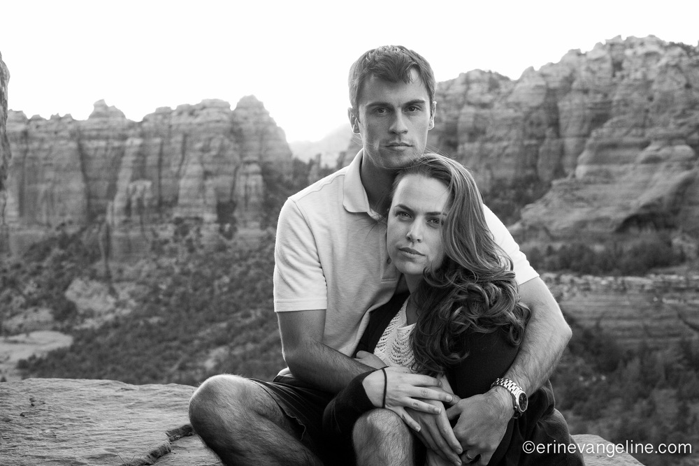 Engagement Photography Sedona Arizona Best Erin Evangeline photography