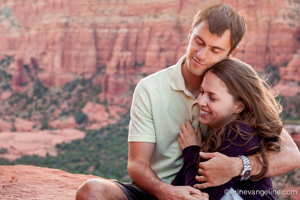 Best Sedona Engagement Photo Erin evangeline Photography Arizona