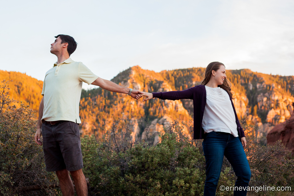 Erin Evangeline Photography Engagement Photo Sedona Arizona