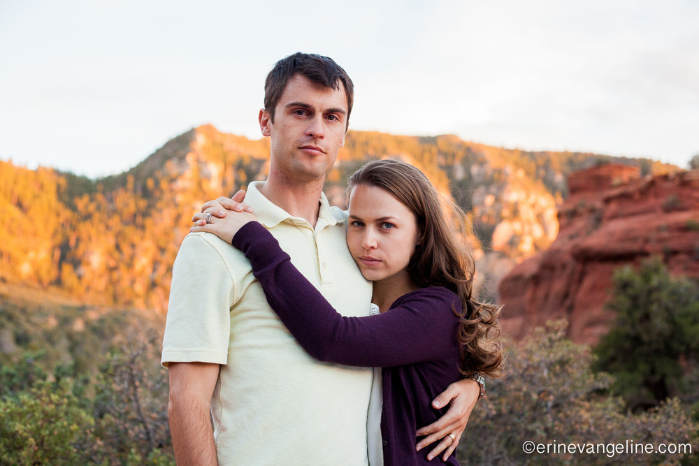 Erin Evangeline Photography Sedona Engagement Photographer Best Arizona