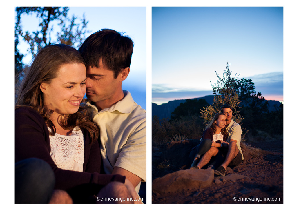 Erin Evangeline Photography Sedona Schnebly Hill Engagement Potography