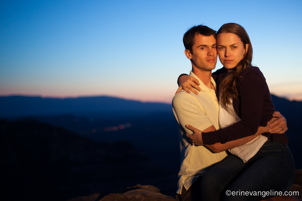 schnebly Hill Road engagement Photography Sedona Arizona erin Evangeline Photography