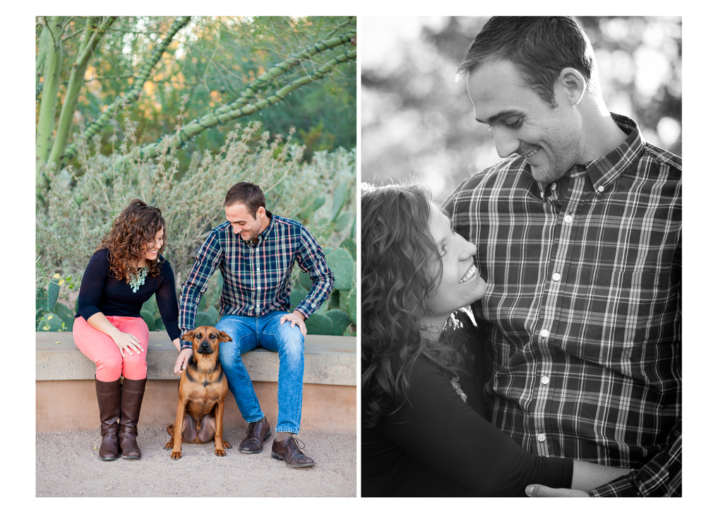 Desert Botanical Gardens Engagement