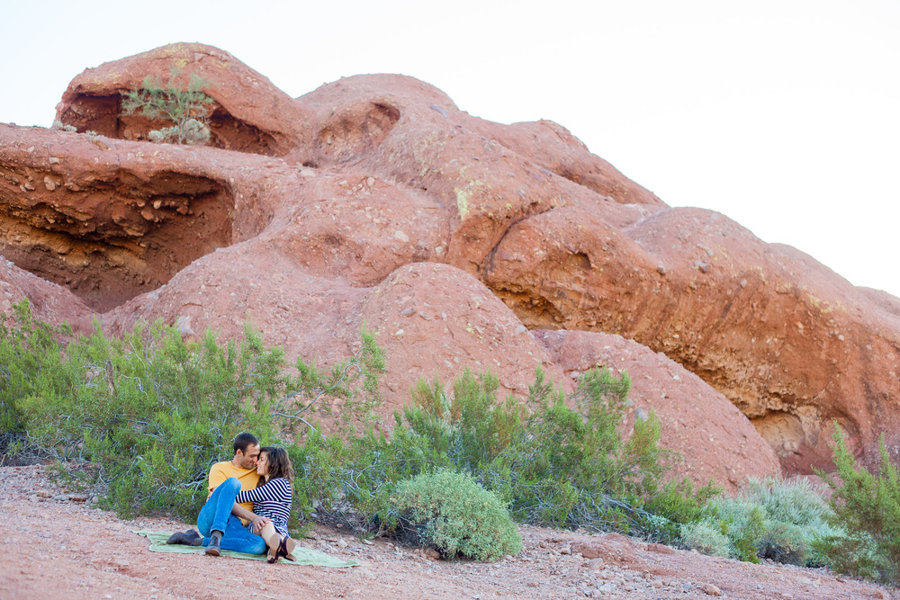 Phoenix Engagement Papago Park