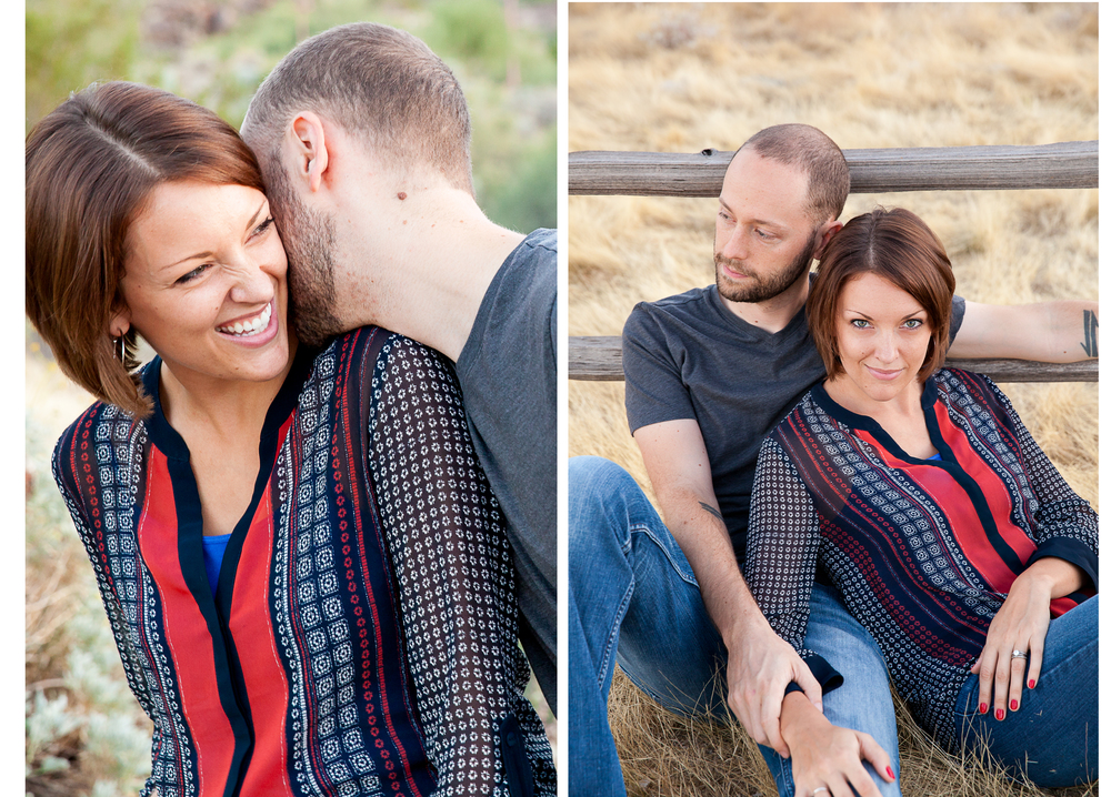 Phoenix Arizona Scorpion gulch South Mountain Engagement Photos