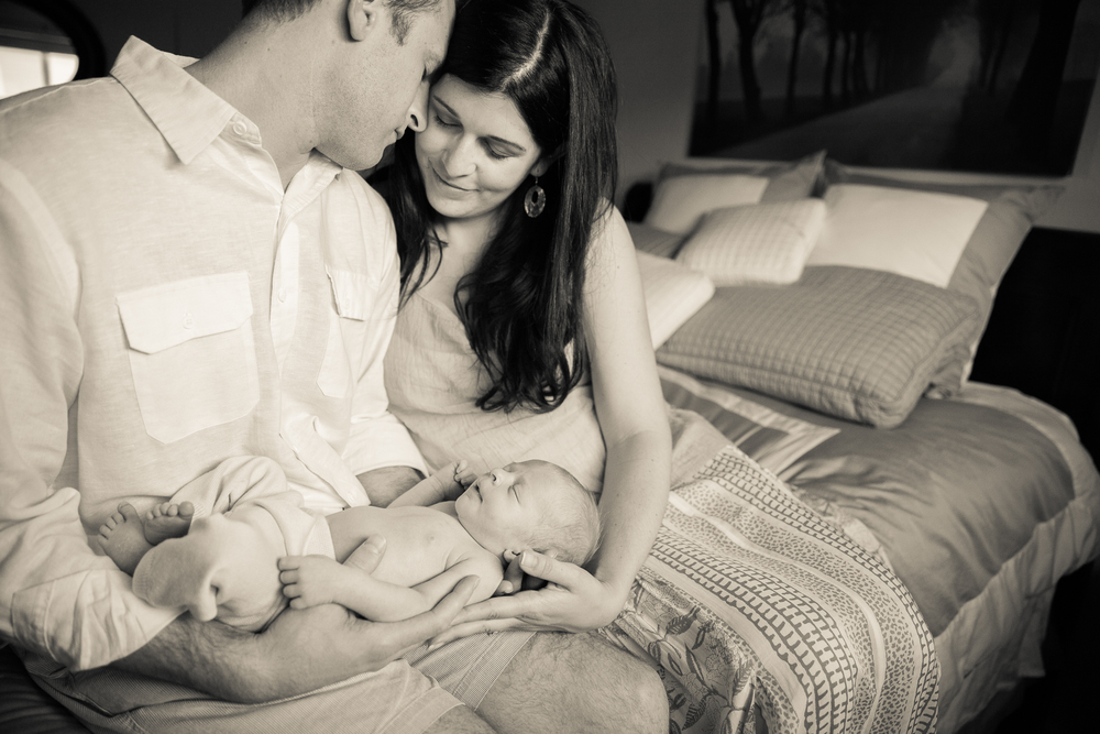 Newborn Lifestyle Session Erin Evangeline Photography