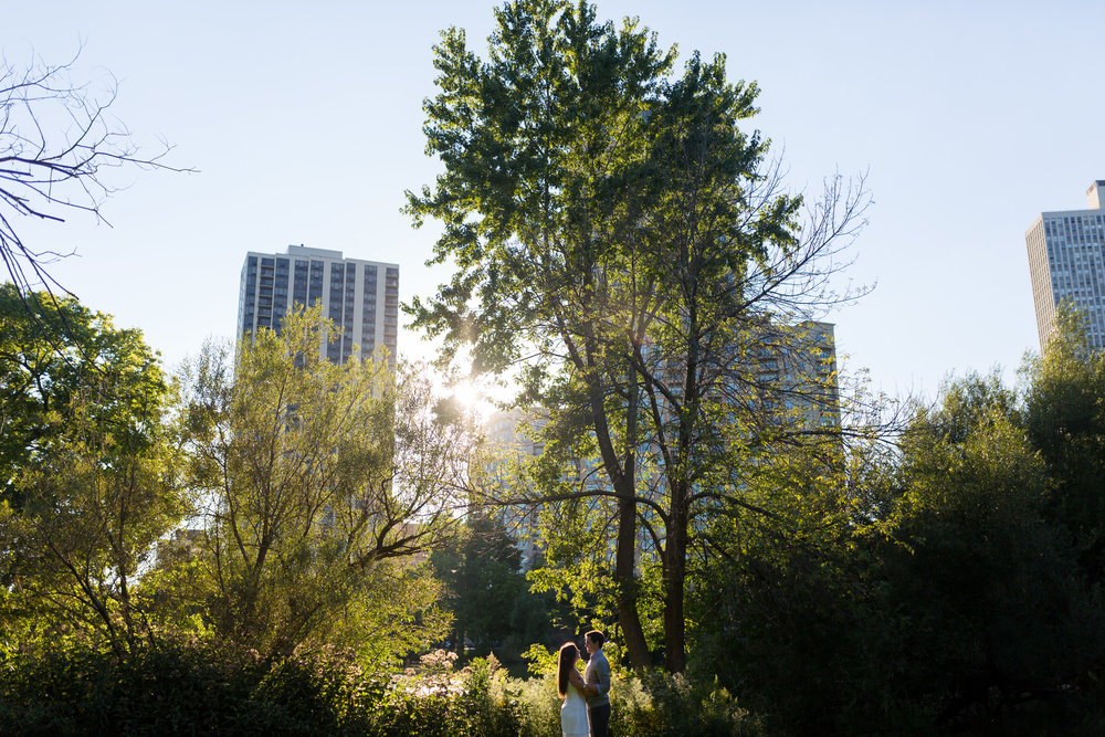 Chicago Lincoln Park Engagement Photo Ideas Erin Evangeline Wedding Photographer