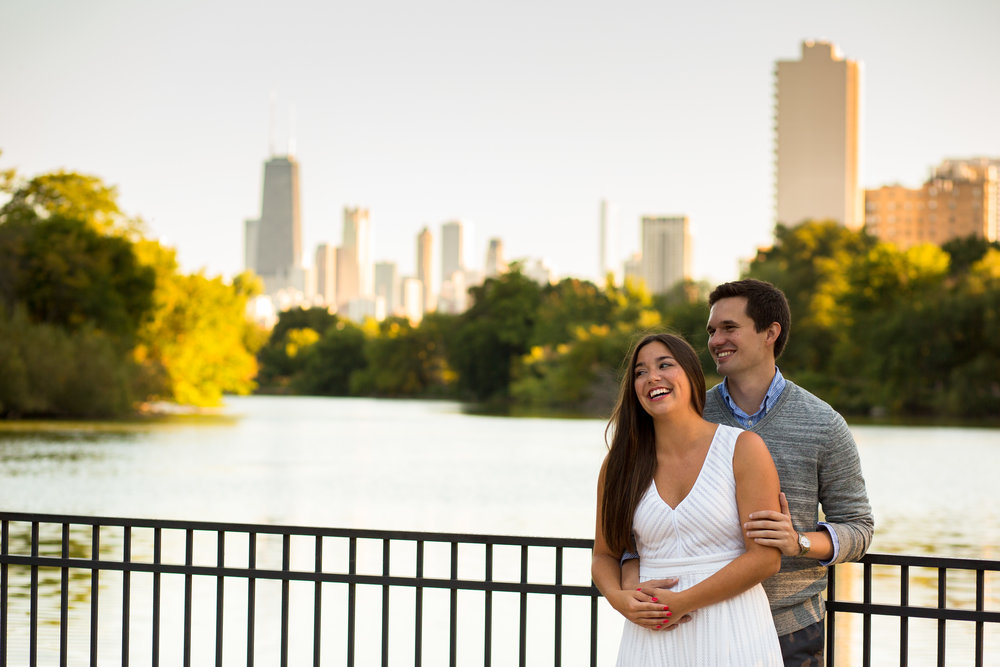 Lincoln Park Engagement Photos Erin Evangeline Wedding Photographer Classic Backlight