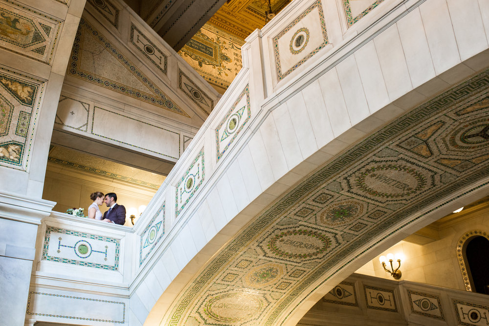 Chicago Cultural Center Wedding Erin Evangeline Photography