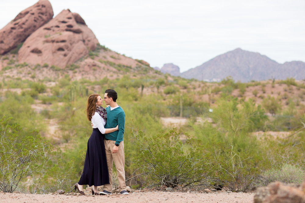Phoenix Engagement Photos Erin Evangeline