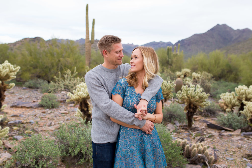 McDowell Mountain Scottsdale Engagement Session