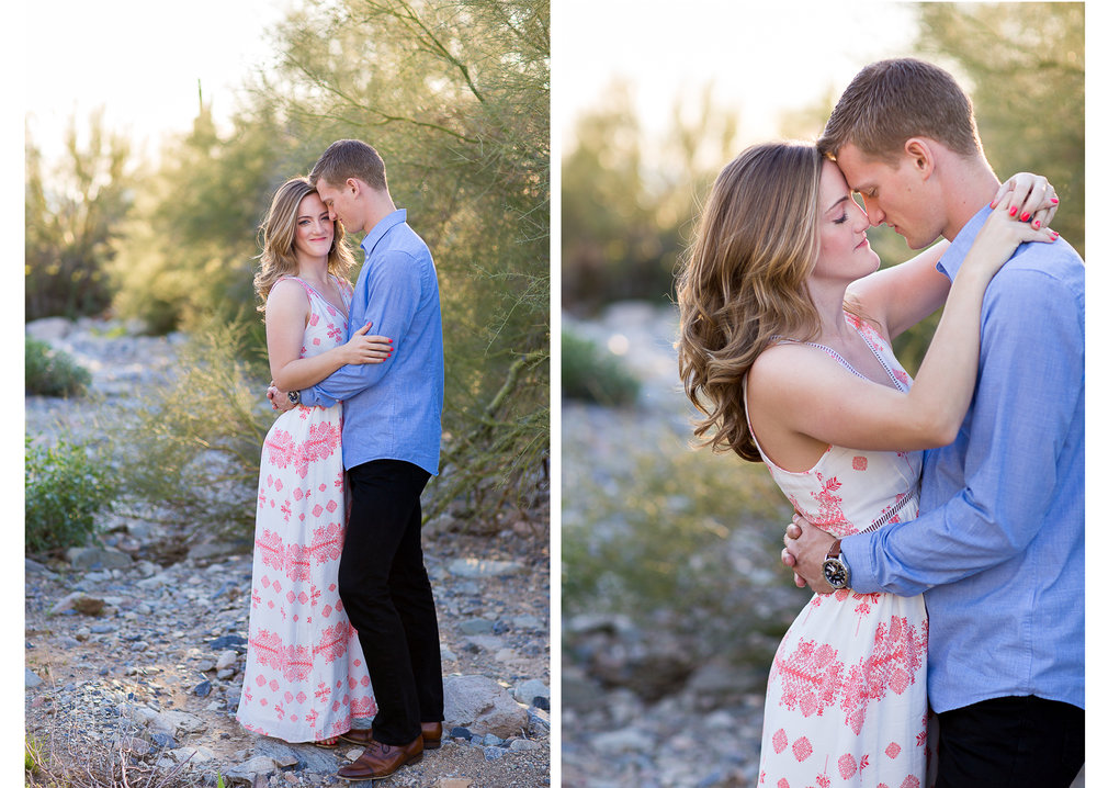Scottsdale Desert Engagement Photos