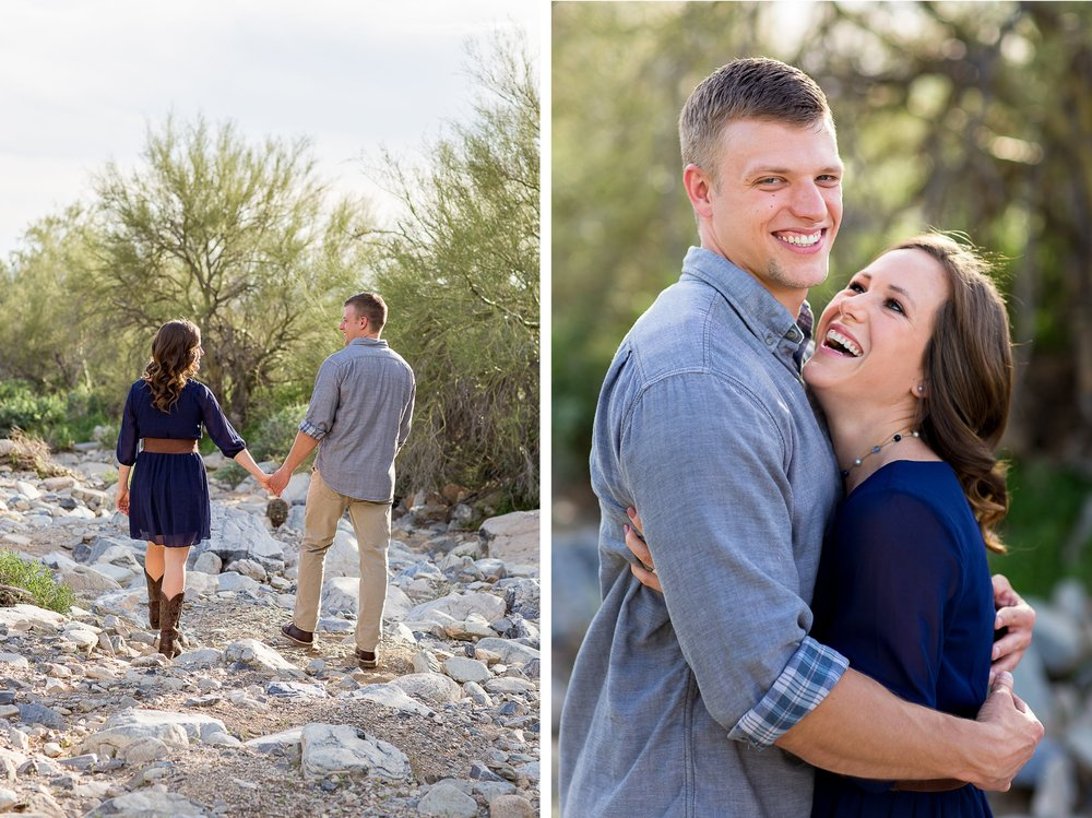 Phoenix Arizona Desert Engagment Photos