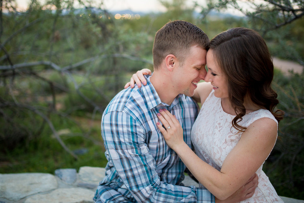 Arizona Desert Engagement Photos Scottsdale