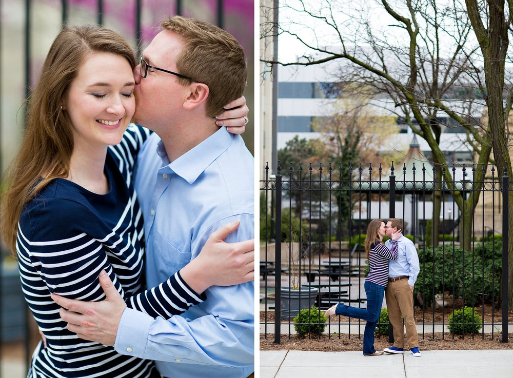 Wichita Downtown Engagement Photography with Erin Evangeline