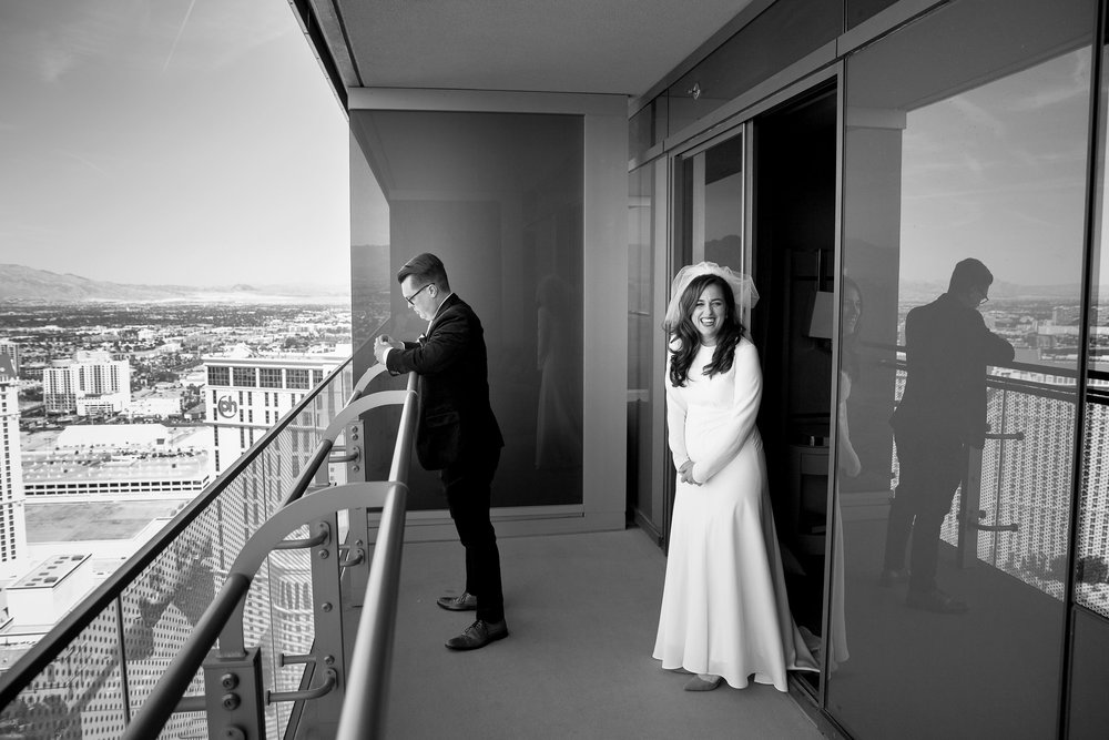 Las Vegas Cosmopolitan Hotel Wedding Photography